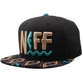 Neff Tribal Beach Snapback Cap - Blue