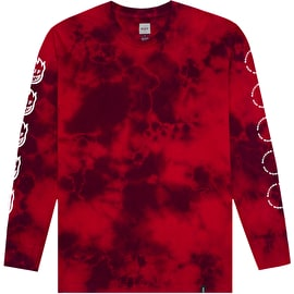 Huf X Spitfire Burn Faster Long Sleeve T Shirt - Red