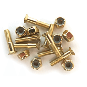 Almost 'Gold Nuts & Bolts' Allen Truck Bolts - 7/8