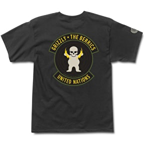Grizzly X Berrics Special Forces T-Shirt - Black