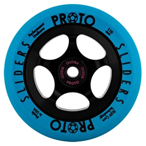 Proto 110mm Slider Day-Glo Scooter Wheel - Blue
