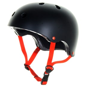 B-Stock Skatehut Essentials Helmet - Black/Red - SML-MED (53-56cm) (Box Damage)