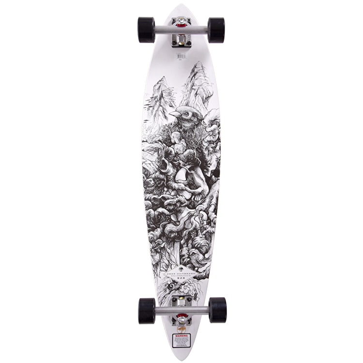 "Arbor Bamboo Collection Fish 39"" Complete Longboard"