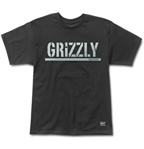 Grizzly Shade Stamp T-Shirt - Black