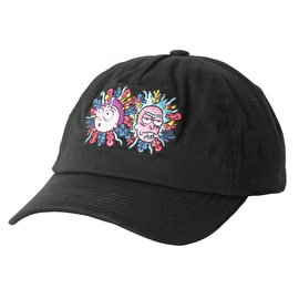 Primitive x Rick And Morty - Rick Dad Cap - Black