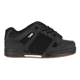 DVS Celsius Skate Shoes - Black Leather