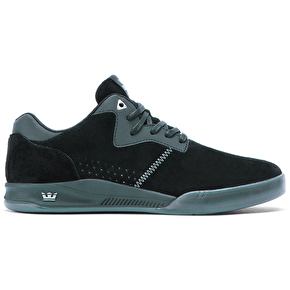 Supra Quattro Shoes - Black/Grey/Transluscent