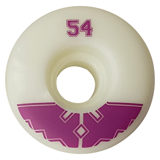 Fracture Uni Pro Skateboard Wheels - Purple 54mm