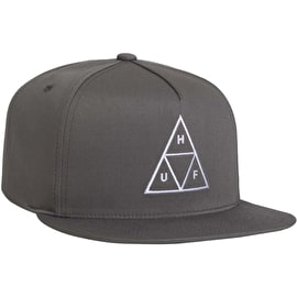 Huf Essentials TT Snapback Cap - Charcoal