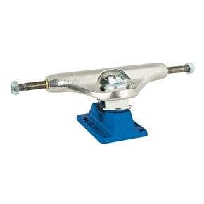 Independent Stage 11 Bar Cross Skateboard Trucks - Silver/Blue