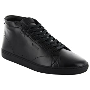 WeSC Lifestyle Clopton Shoes - Black Leather