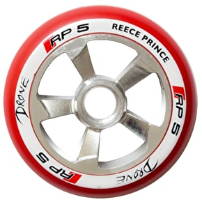 Drone RP5 110mm Wheel - Chrome/Red