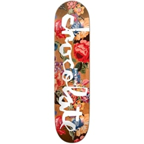 Chocolate Floral Chunk Skateboard Deck - Tershy 8.5