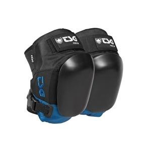 TSG Force 3 Knee Pads- Black/Blue