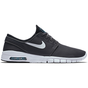 Nike SB Stefan Janoski Max Shoes - Dark Grey/White