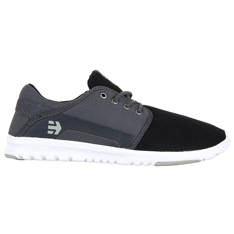 Etnies Scout Shoes - Black/Dark Grey/Silver