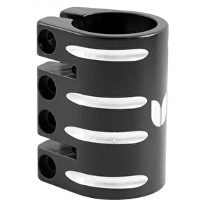 Blazer Pro Quad Bolt Collar Clamp with Shim - Black