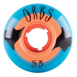 Welcome Orbs Poltergeists Skateboard Wheels - Neon Blue - 53mm