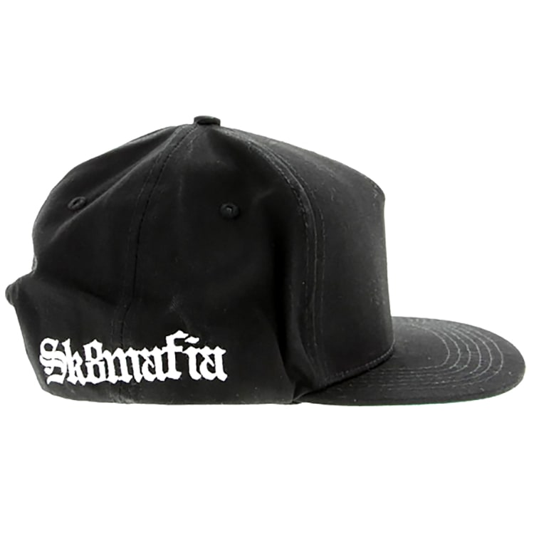 SK8 Mafia Old E Side Snapback Cap - Black