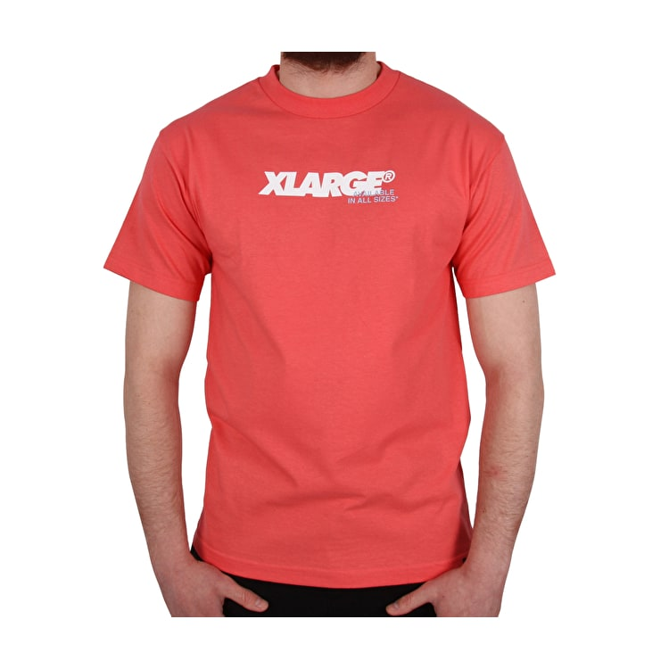 X-Large All Sizes T Shirt - Coral