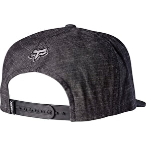 Fox Keep Out Snapback Cap - Black/Red