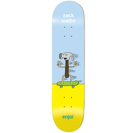 Enjoi Dingleballdom R7 Skateboard Deck - Wallin 8