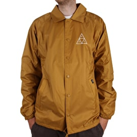 Huf Essentials TT Coaches Jacket - Honey Mustard