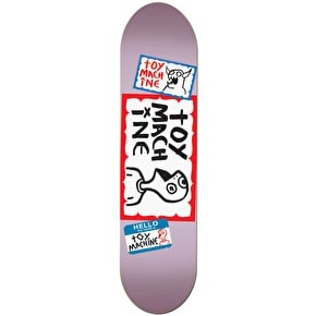 Toy Machine Hello Skateboard Deck - 8.375