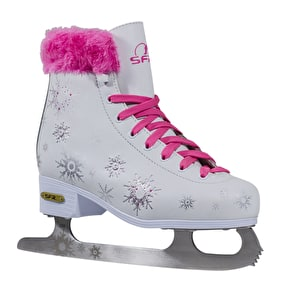 B-Stock SFR Snowflake Vinyl Figure Ice Skates (Size - UK 4) (Cosmetic)