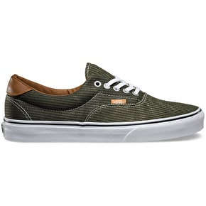 Vans Era 59 Shoes - (Washed Herringbone) Grape Leaf