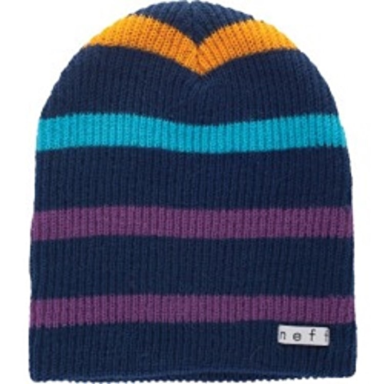 Neff Daily Stripe Beanie - Navy / Multi