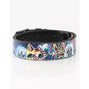 LowLife Iron Maiden BOTB Reversible Belt - Black