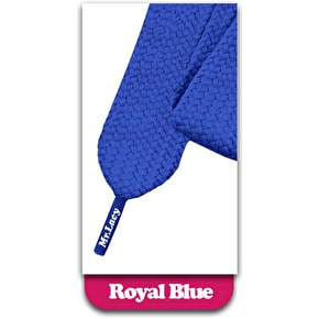 Mr Lacy Fatties Shoelaces Royal Blue