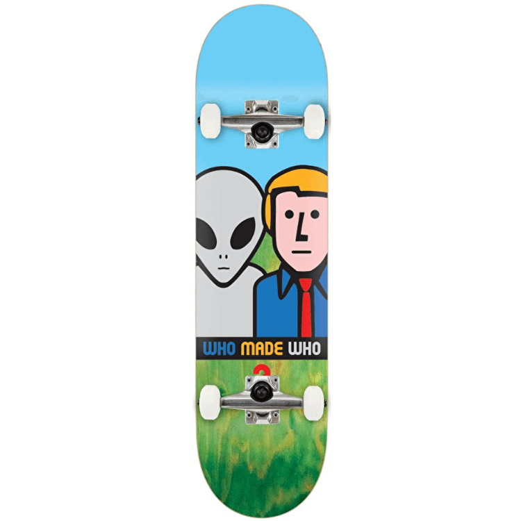 Alien Workshop Who Made Who Complete Skateboard - 8""