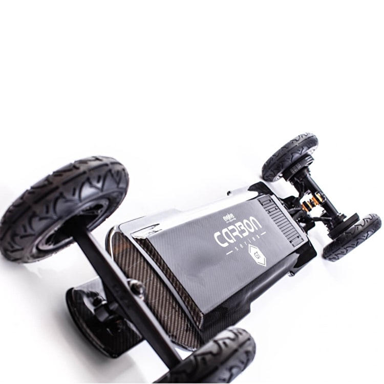 Evolve GT Carbon 2 In 1 Electric Skateboard - Black