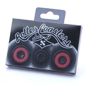 Sacrifice Roller Coaster Abec 9 Bearings - Black/Red (Pack of 4)