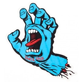 Santa Cruz Screaming Hand Sticker - Small 3