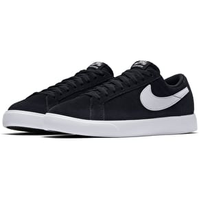 Nike SB Blazer Vapor Skate Shoes - Black/White