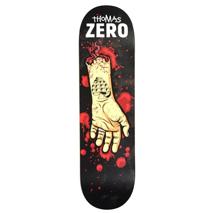 Zero Skateboard Deck - Severed Ties R7 Thomas 8.375""