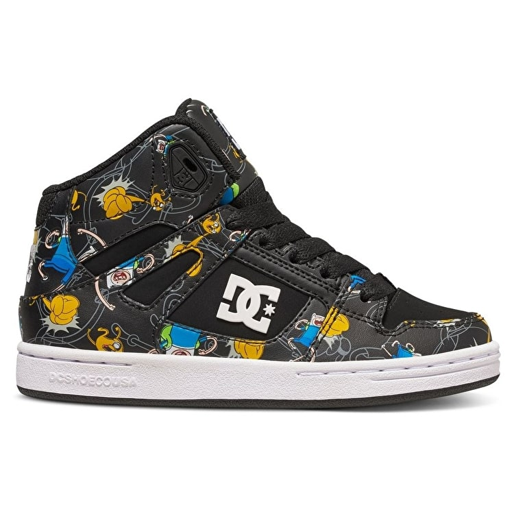 DC Rebound Kids Shoes - (Adventure Time) Multi