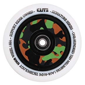 Elite 110mm Camo Air-Ride  Scooter Wheel - White PU