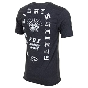 Fox Elixer T-Shirt - Heather Black