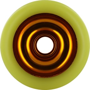 Eagle Gold core Yellow Pu Metal Core wheel - 110mm