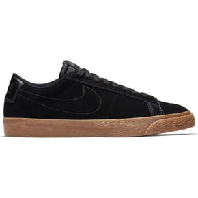 Nike SB Zoom Blazer Low Skate Shoes - Black/Black/Anthracite