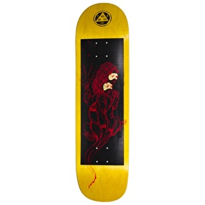 Welcome Komodo Queen On Big Bunyip Skateboard Deck - Black 8.5