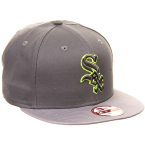 New Era 9Fifty Pop Outline Chicago White Sox Snapback Cap
