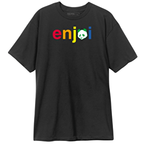 Enjoi T-Shirt - No Brainer Black
