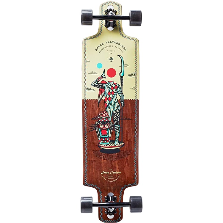 Arbor Artist Series Hablak Drop Through Complete Longboard 38""