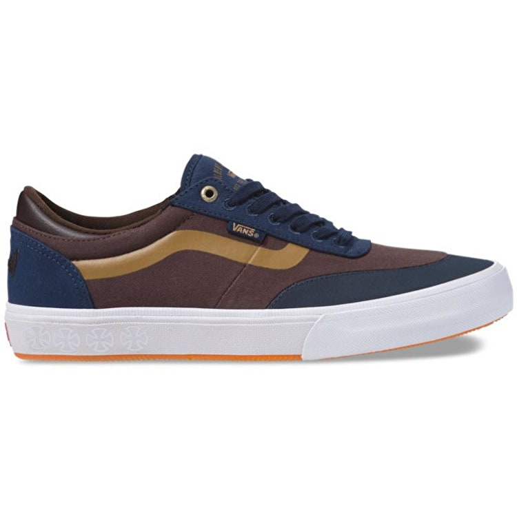 Vans Gilbert Crockett 2 Pro Skate Shoes - (Independent) Dress Blues/Demitasse