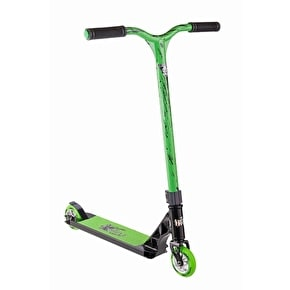 Grit 2017 Fluxx Complete Scooter - Black/Acid Green Black Laser
